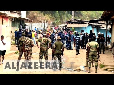 Gabon violence: Tense mood lingers after violence