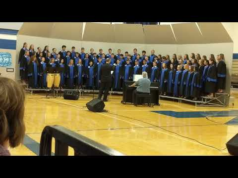 You Are Not Alone - Malcolm High School Choir