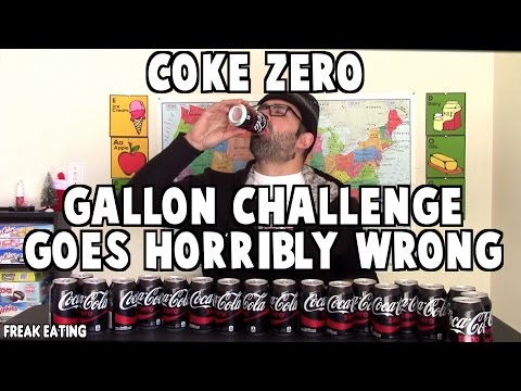 Coke Zero Gallon Challenge Goes Horribly Wrong *DO NOT ATTEMPT* | FreakEating