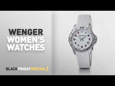 Wenger Women's Watches 85% Off Retail! | Amazon Watches Black Friday