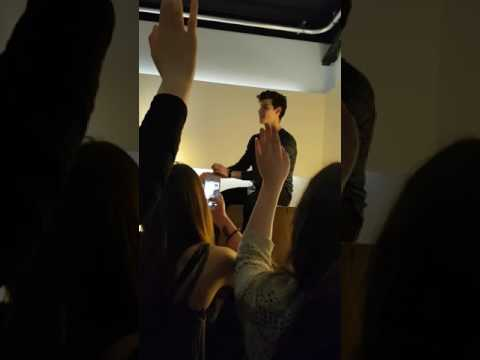 Shawn Mendes Q&A Hamburg 22.05.2017