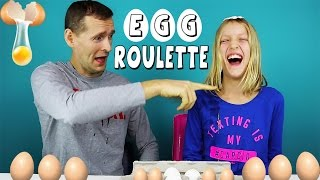 EGG ROULETTE with my DAD