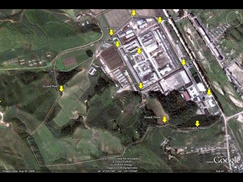 North Korean Labor Camps Found With Google Earth