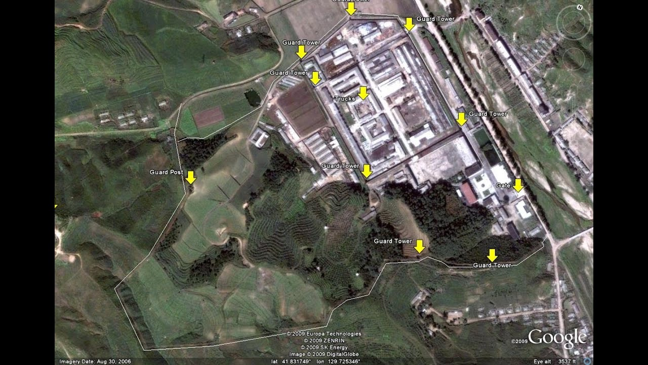 North Korean Labor Camps Found With Google Earth Youtube