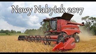 Nowy Nabytek - Case 7240 Axial Flow- Żniwa 2017 - Koszenie na 2 kombajny - TeamMichalski