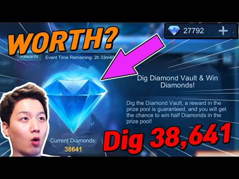 Spend My Diamonds To This New Event For Digging 38,641