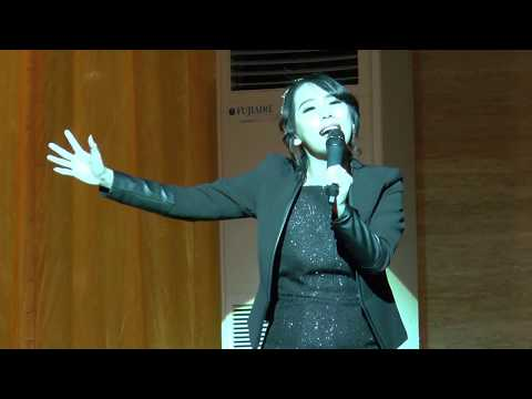 Penampilan dan Kesaksian Cherly Juno Ex Cherrybelle ( Natal JC Holic GBI Kalvari Cirebon )