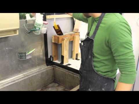 Intaglio Removing Hardground Aquatint