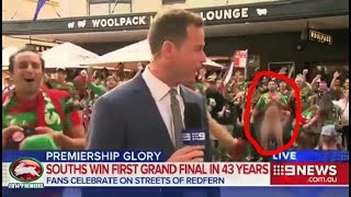 News Bloopers (Crazy stuff people do on LIVE news)