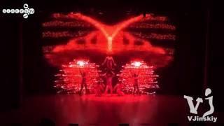 УНИКАЛЬНОЕ ТАНЦЕВАЛЬНОЕ 3D Проекционное ШОУ mapping  с командой Larisa Dance Show&Sintes tv 720