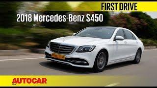 Mercedes-Benz S 450 Petrol   India Drive   Autocar India