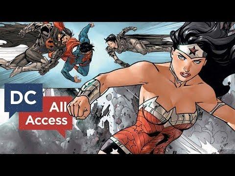 Superman/Wonder Woman Battle Zod/Faora!