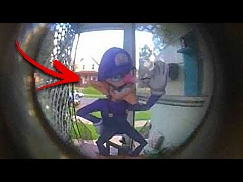 أكثر مقاطع كاميرات الأجراس التي تم التقاطها إخافة على الإطلاق !!