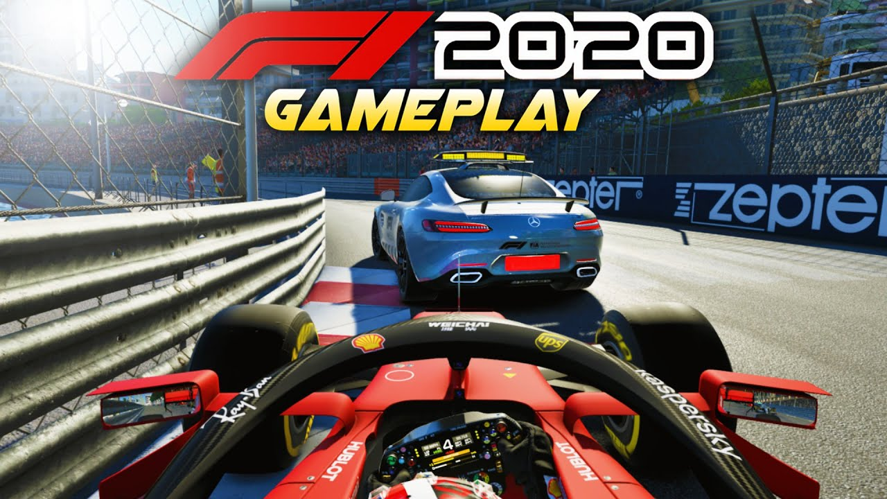 F1 2020 Gameplay! Race at MONACO with Charles Leclerc! Mega Overtakes & A Safety Car!