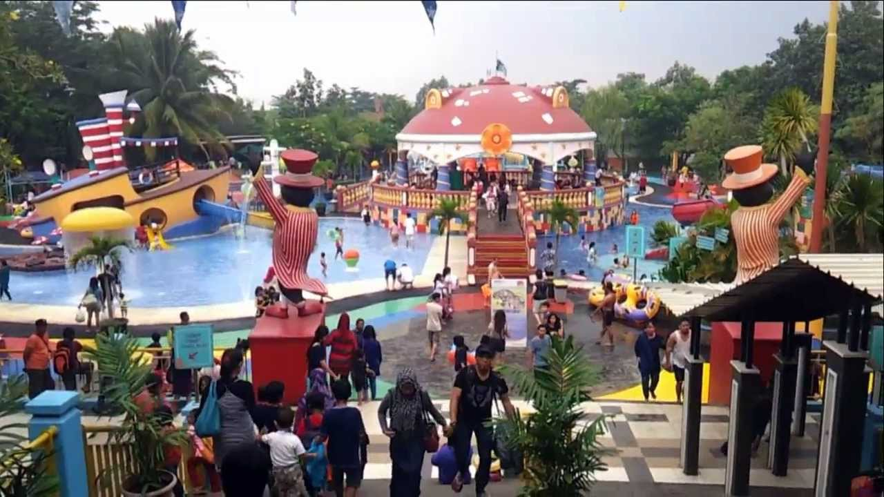 Ocean Park Bsd City Tangerang Indonesia Unofficial Video Holiday