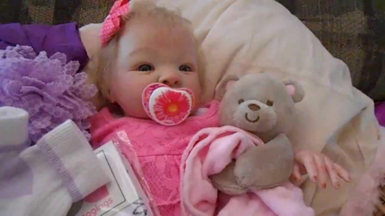 Reborn Baby Girl Shyann Sculpt By Aleina Peterson 19 Inch