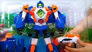 Распаковка Тобота - Игрушка робот трансформер Тобот W