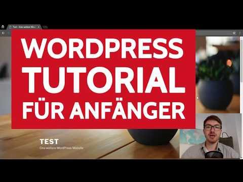 EINFACHES WordPress Tutorial für ABSOLUTE Anfänger 🚀 (deutsch)