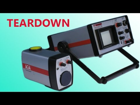 Destructive teardown: AGA Thermovision thermal imaging camera