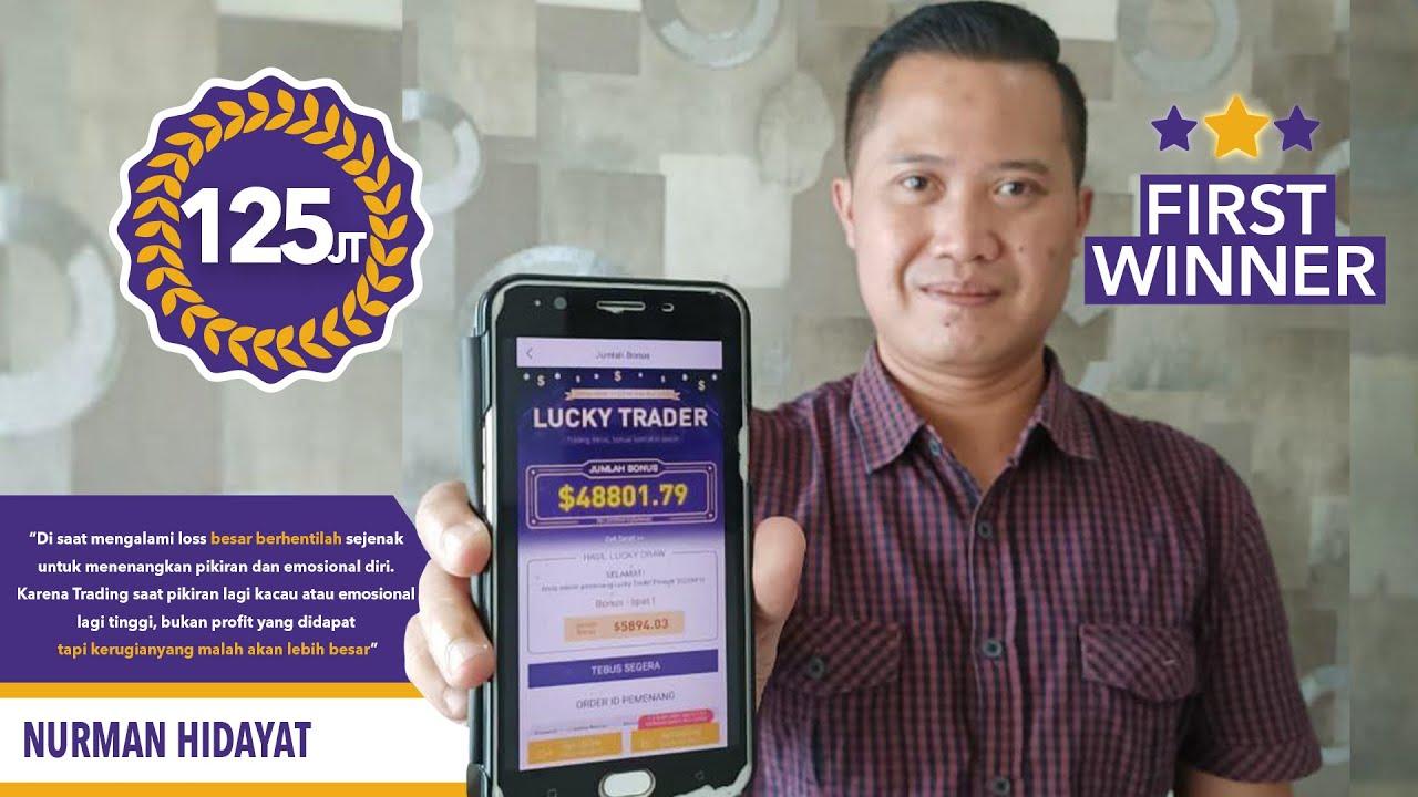 Testimoni HSB Investasi Lucky Trader: Nurman Hidayat - YouTube