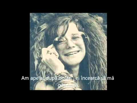 Janis Joplin - Mercedes Benz (tradus romana)