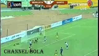 Sriwijaya FC vs Barito Putra (4-2) Indonesia Super League 2014