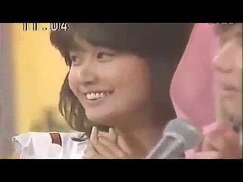 デビュー当時 中森明菜 小泉今日子 石川秀美 新井薫子
