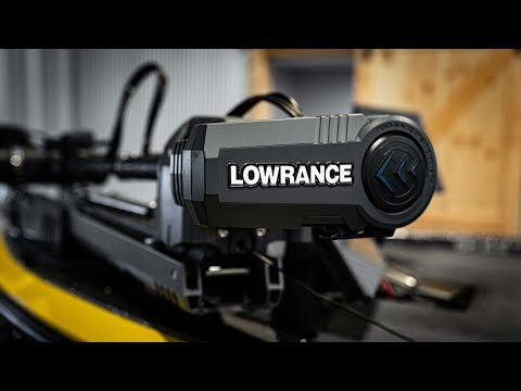 Lowrance Ghost Trolling Motor Unboxing/Features