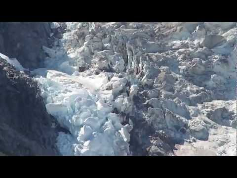 Anchor Glacier in Kenai Fjords National Park, Alaska
