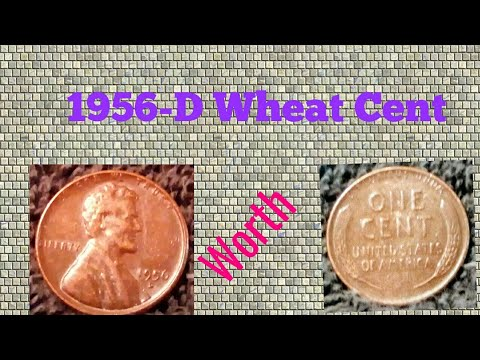 1956-D Wheat Cent video!!! #penny errors