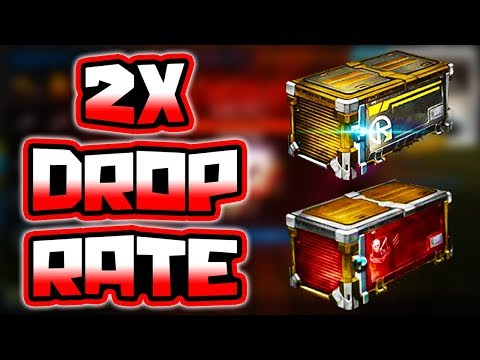 "HUGE ""2X DROP RATE"" CRATE OPENING!! ( Rocket League Double Painted Items )"