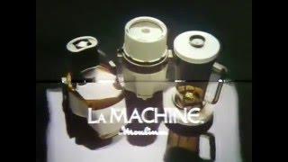 70's Ads: LaMachine Food Processor Moulinex 1977