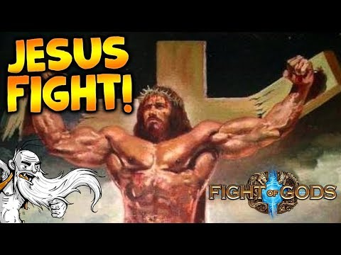 "Fight of Gods Gameplay - ""JESUS GOT HIS BUTT KICKED!!!""  - Story Mode Let's Play"