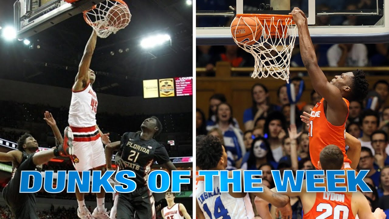 Dunks Of The Week: January 14-20