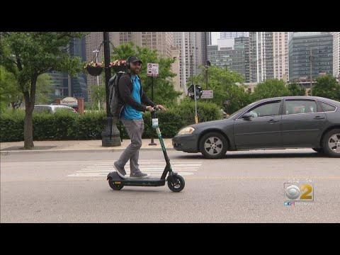 E-Scooter Pilot Program Launches In Chicago