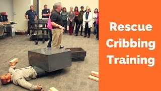 Cribbing Rescue Training for CERT/Search & Rescue Team
