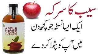 Saib k sirka for Weight Loss | Apple cider vinegar for weight loss