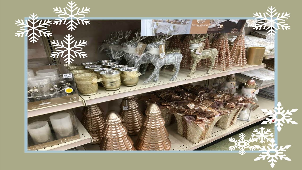 Shop With Me Christmas Home Decor At Big Lots! 2018 - YouTube