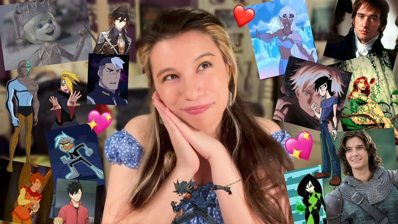 revealing all my fictional crushes🥰