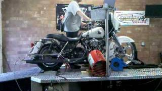 """THC Build 107"""" Thumper (Bubba's Eagle Eater) Test & Tune Day 129 HP Todd Holland Cycles"""