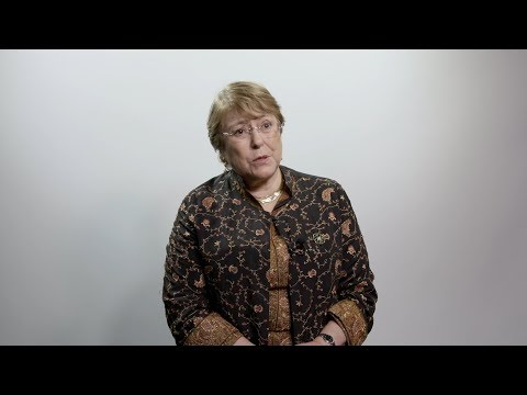 Priorities of the Human Rights Chief - Michelle Bachelet on her new role