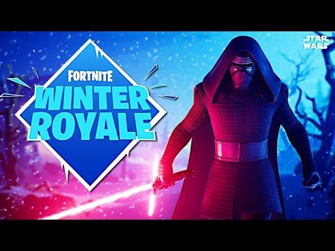 New Kylo Ren Skin & Winter Royale Duo Tournament!! (Fortnite Battle Royale)