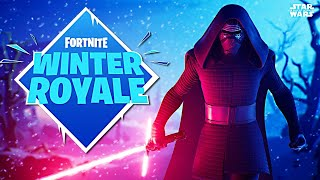New Kylo Ren Skin & Winter Royale Duo Tournament!! (Fortnite Battle Royale)