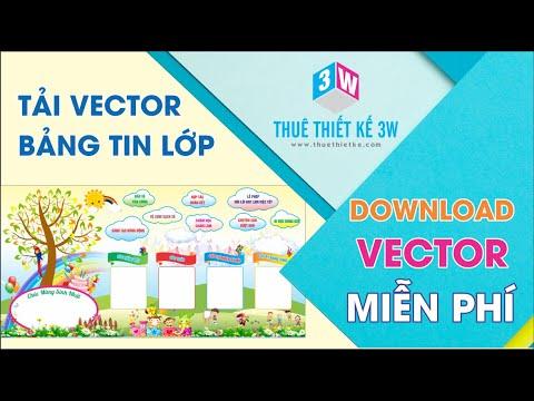 Download Vector Bảng Tin Lớp cho Trường Tiểu Học | www.thuethietke.com