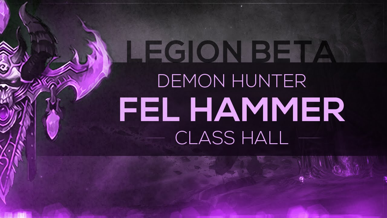 how to get to the fel hammer