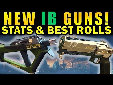 Destiny 2: NEW Season 5 Iron Banner Weapons! | Stats & Best Rolls! thumbnail