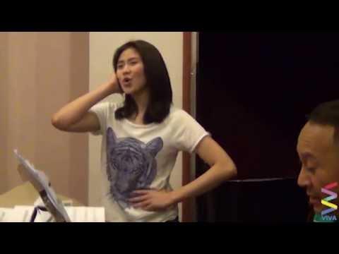 Sarah G Voice Rehearsal Reaches High Notes! [EXCLUSIVE]
