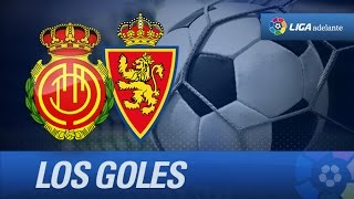 Todos los goles de RCD Mallorca (3-2) Real Zaragoza