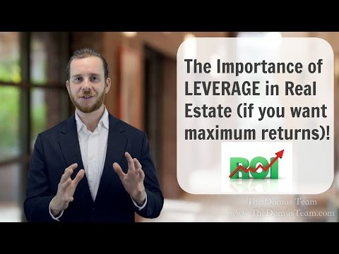 The Importance of Leverage in the Real Estate Market | San Diego Real Estate | The Real Estate Jedi