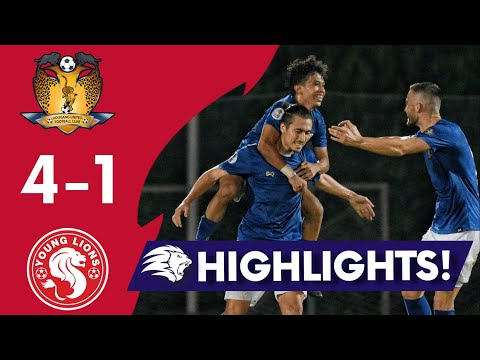 Hougang United Young Lions Goals And Highlights
